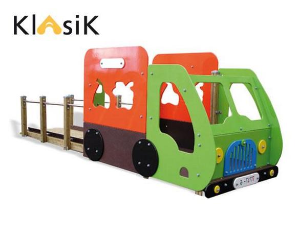 el Camión adaptado - Parques infantiles adaptados BENITO URBAN